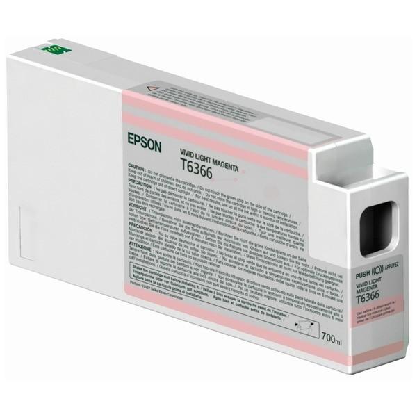 Epson Tintenpatrone T6366 magenta hell C13T636600