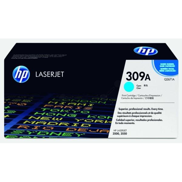 HP Toner 309A cyan Q2671A