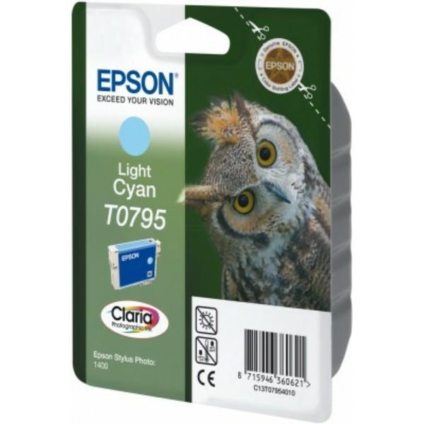 Epson Tintenpatrone T0795 cyan hell C13T07954010