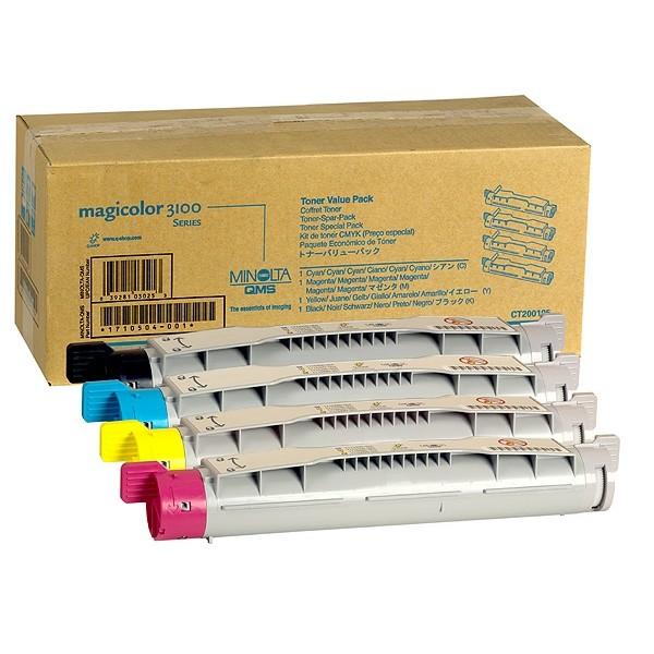 Konica Minolta Toner 1710504-001 BK,C,M,Y Value-Kit