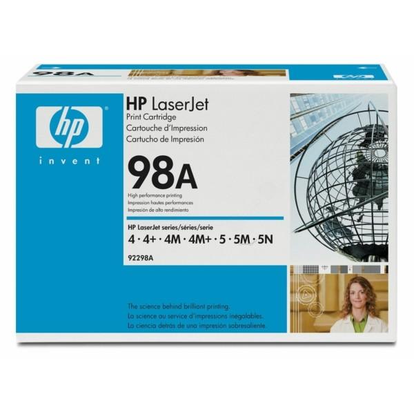 HP Toner 98A schwarz 92298A