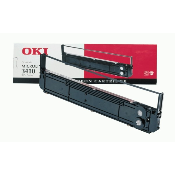 OKI Nylonband 09002315 schwarz