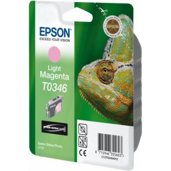 Epson Tintenpatrone T0346 magenta hell C13T03464010