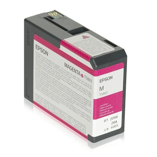 Epson Tintenpatrone T5803 magenta C13T580300