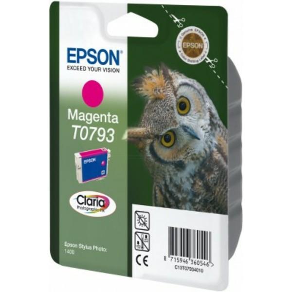Epson Tintenpatrone T0793 magenta C13T07934010