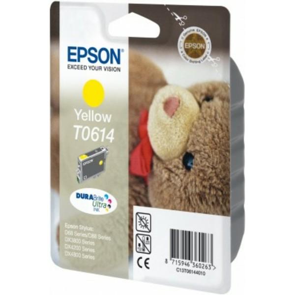 Epson Tintenpatrone T0614 gelb C13T06144010