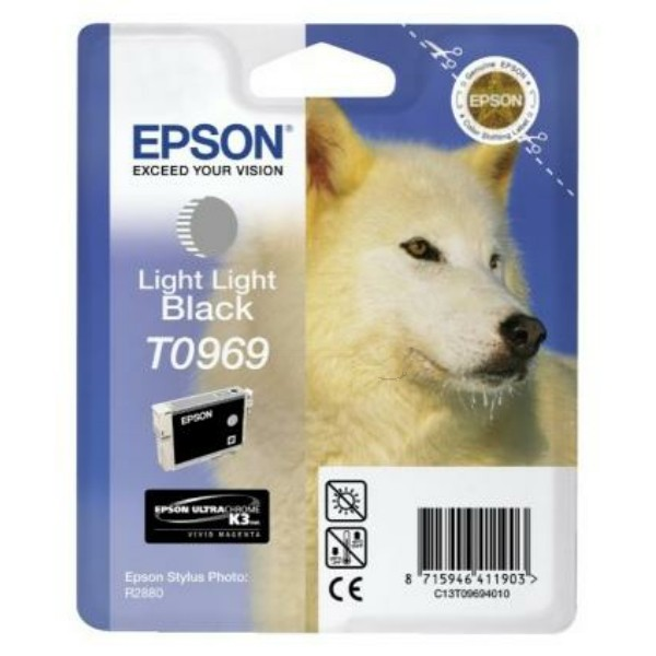 Epson Tintenpatrone T0969 schwarz hell C13T09694010