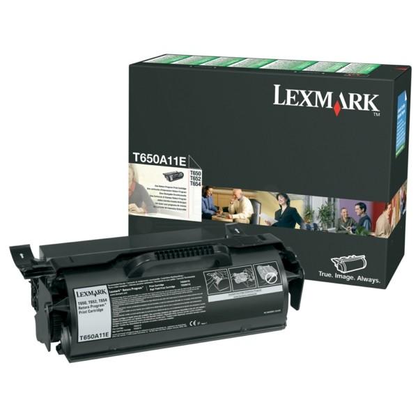 Lexmark Toner T650A11E schwarz