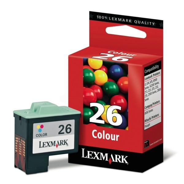 Lexmark Druckkopf Nr. 26 color 10N0026E