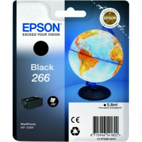 Epson Tintenpatrone 266 schwarz C13T26614010