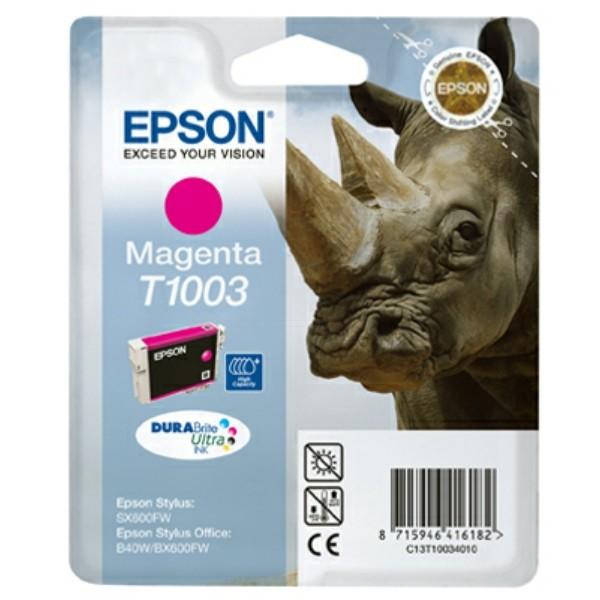 Epson Tintenpatrone T1003 magenta C13T10034010