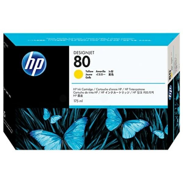 HP Tintenpatrone Nr. 80 gelb C4873A