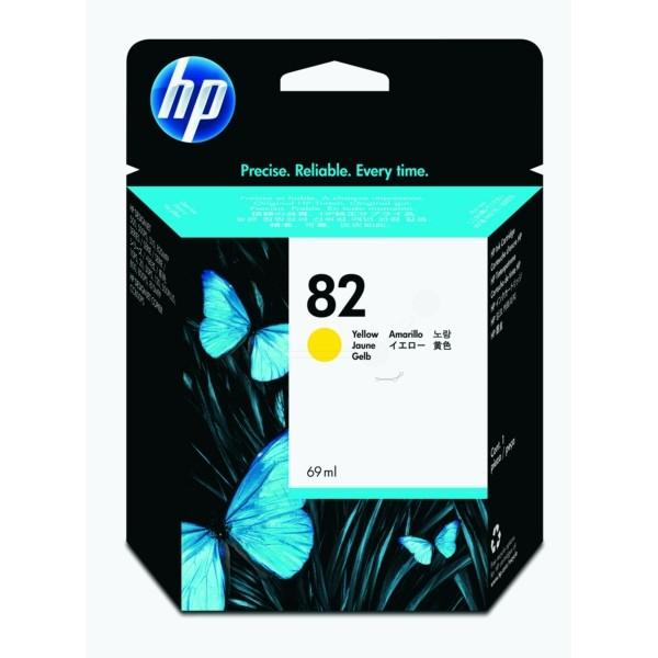 HP Tintenpatrone Nr. 82 gelb C4913A