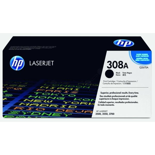 HP Toner 308A schwarz Q2670A