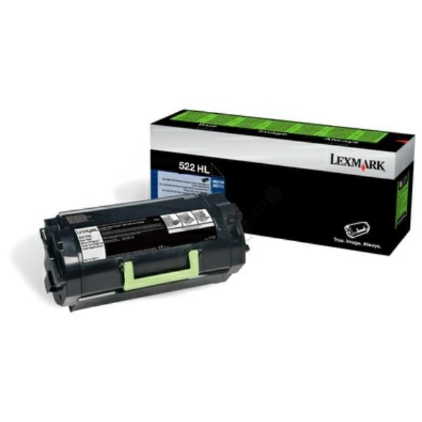 Lexmark Toner 522HL schwarz 52D2H0L