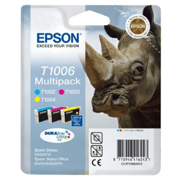 Epson Tintenpatrone T1006 C,M,Y C13T10064010 Multipack