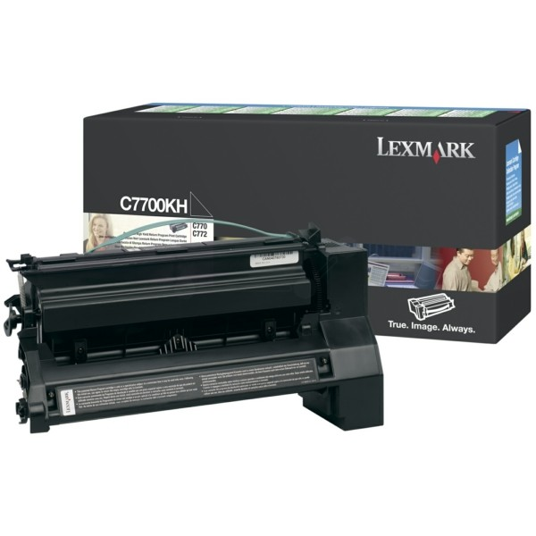 Lexmark Toner C7700KH schwarz
