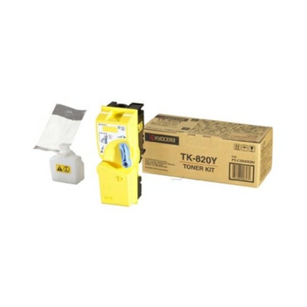 Kyocera/Mita Toner TK-820Y gelb