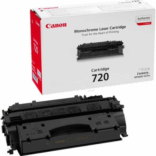 Canon Toner 720BK schwarz 2617B002