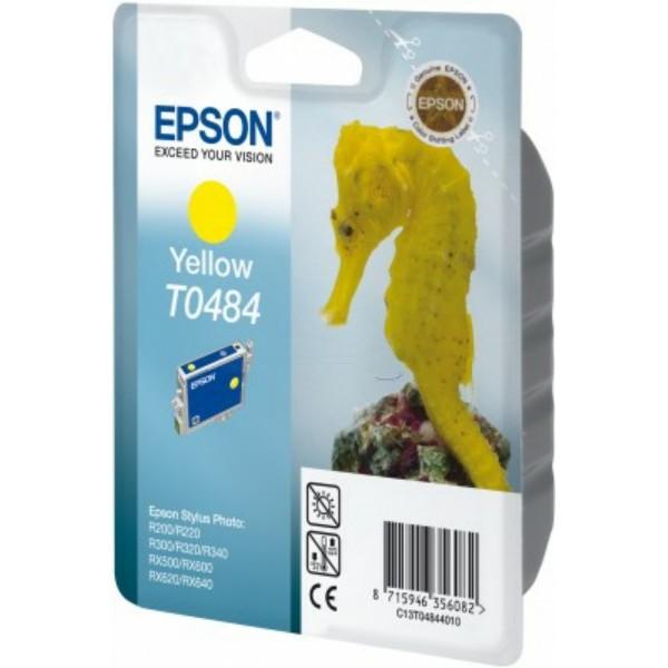 Epson Tintenpatrone T0484 gelb C13T04844010