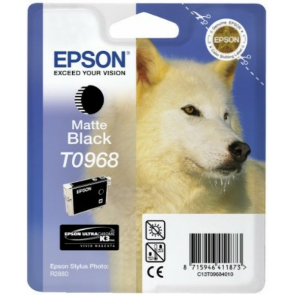 Epson Tintenpatrone T0968 schwarz matt C13T09684010