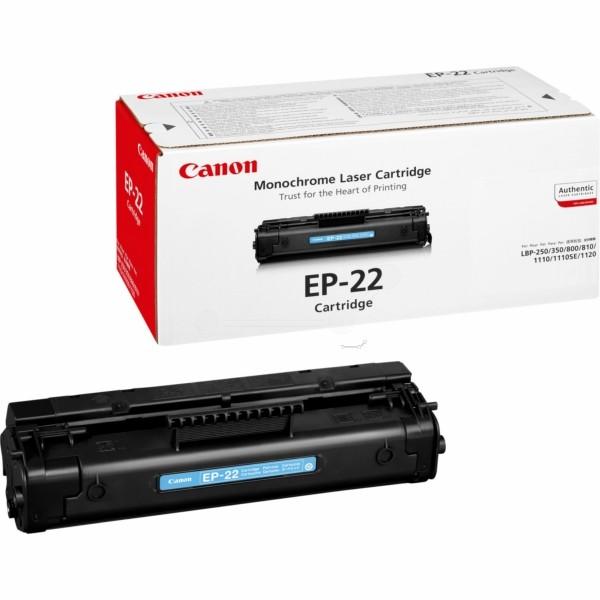 Canon Toner EP-22 schwarz 1550A003