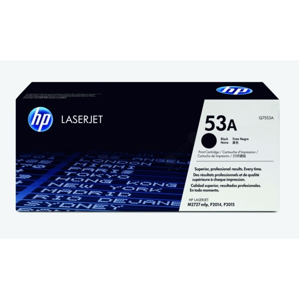 HP Toner 53A schwarz Q7553A
