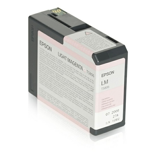 Epson Tintenpatrone T5806 magenta hell C13T580600