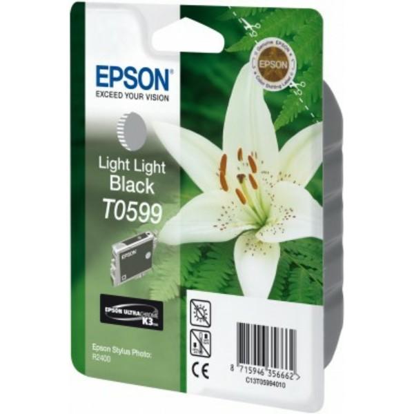 Epson Tintenpatrone T0599 schwarz hell C13T05994010