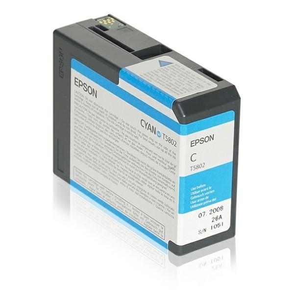Epson Tintenpatrone T5802 cyan C13T580200