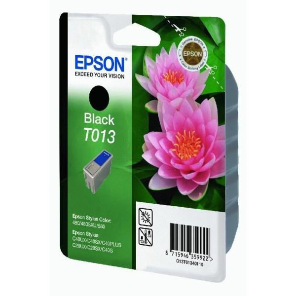 Epson Tintenpatrone T013 schwarz C13T01340110