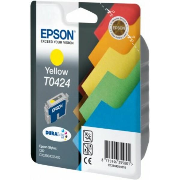 Epson Tintenpatrone T0424 gelb C13T04244010
