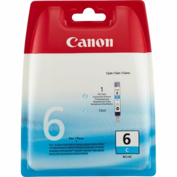 Canon Tintenpatrone BCI-6C cyan 4706A002