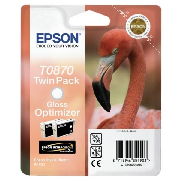 Epson Tintenpatrone T0870 Glanzverstärker C13T08704010