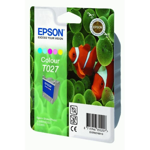 Epson Tintenpatrone T027 color C13T02740110