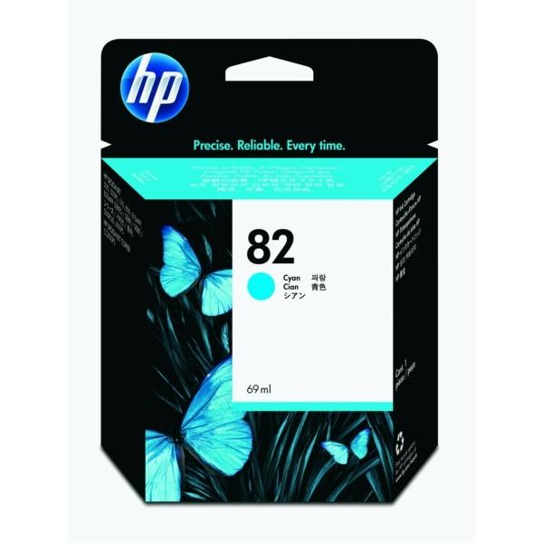 HP Tintenpatrone Nr. 82 cyan C4911A