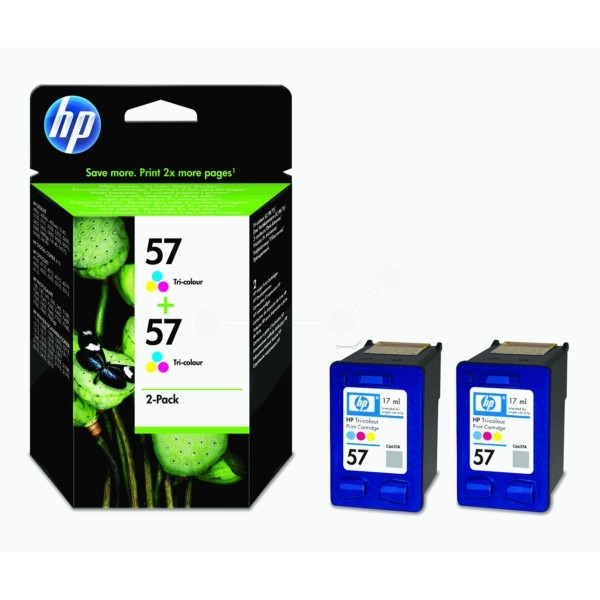 HP Druckkopf Nr. 57 color C9503AE VE=2