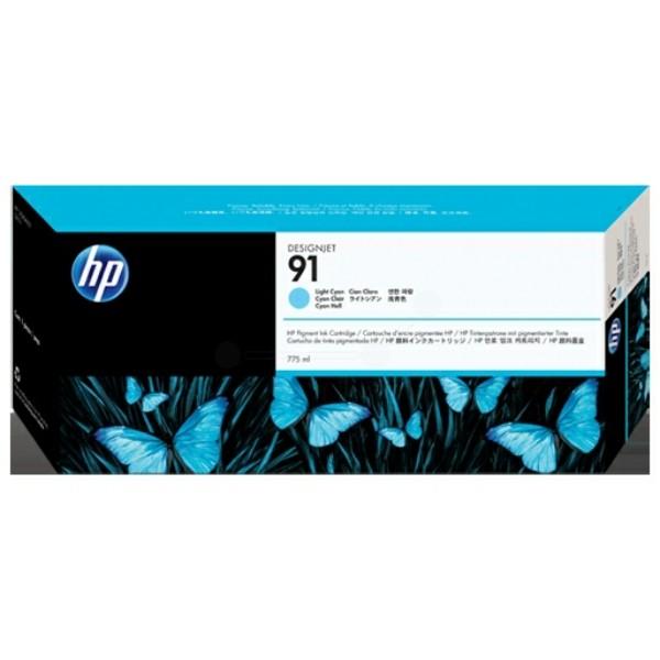 HP Tintenpatrone Nr. 91 cyan hell C9470A