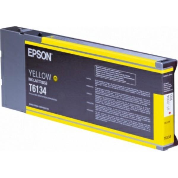 Epson Tintenpatrone T6134 gelb C13T613400
