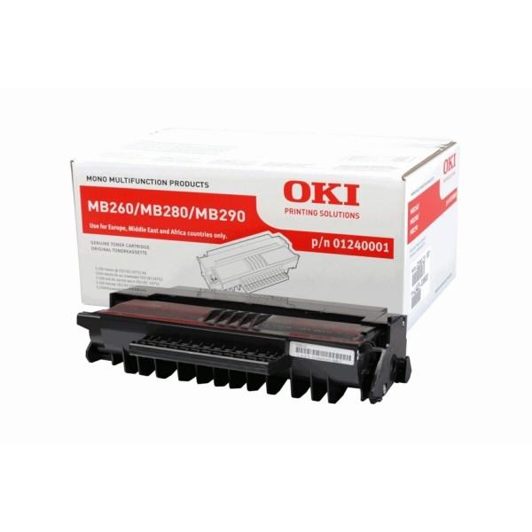OKI Toner 01240001 schwarz