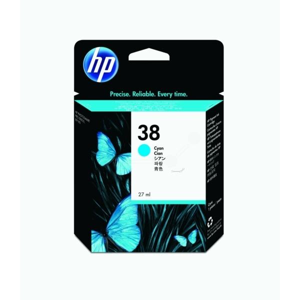HP Tintenpatrone Nr. 38 cyan C9415A