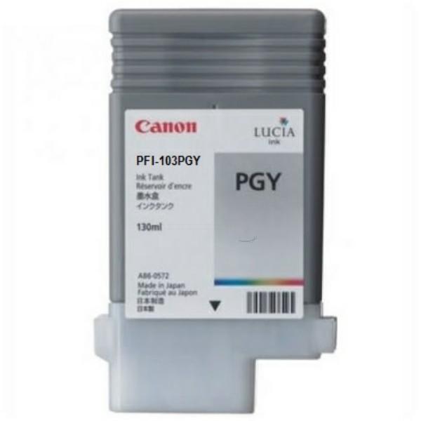 Canon Tintenpatrone PFI-103PGY grau 2214B001