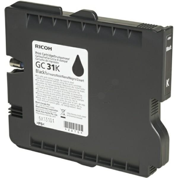 Ricoh Tintenpatrone GC-31K schwarz 405688
