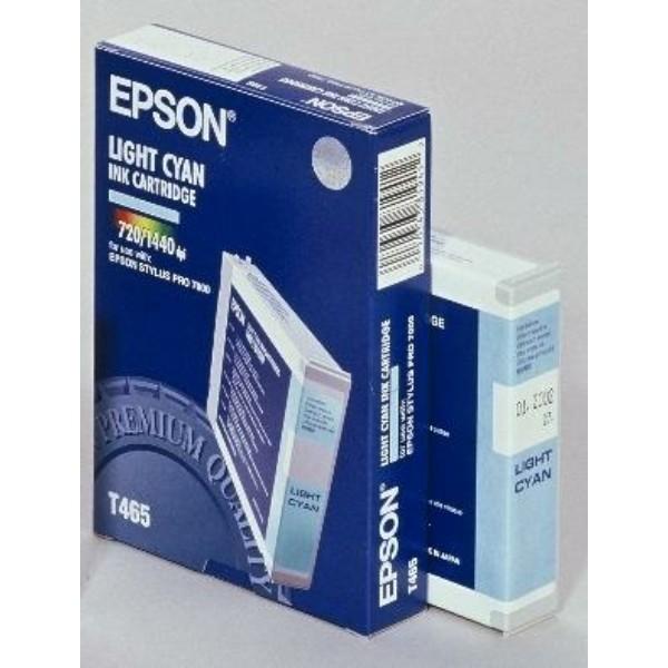Epson Tintenpatrone T465 cyan hell C13T465011