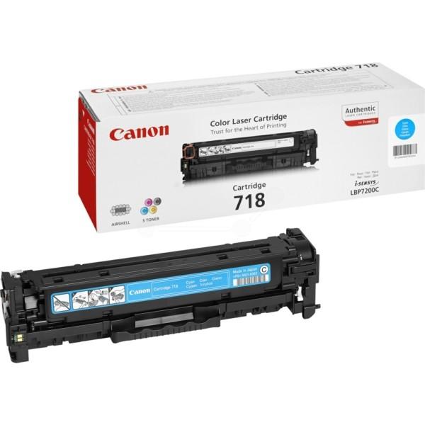 Canon Toner 718C cyan 2661B002