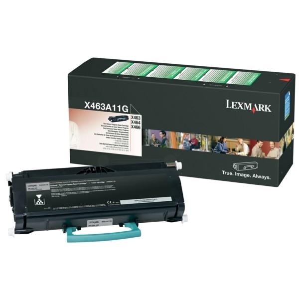 Lexmark Toner X463A11G schwarz