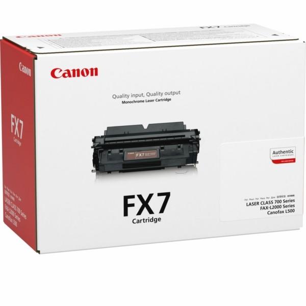 Canon Toner FX7 schwarz 7621A002