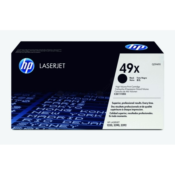 HP Toner 49X schwarz Q5949X