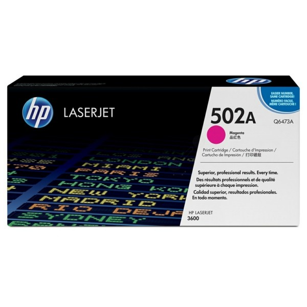 HP Toner 502A magenta Q6473A