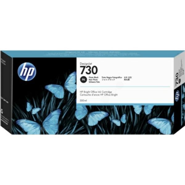 HP Tintenpatrone Nr. 730 foto schwarz P2V73A